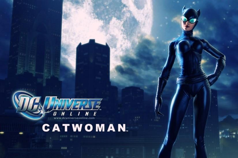 Video Game - DC Universe Online Catwoman Wallpaper