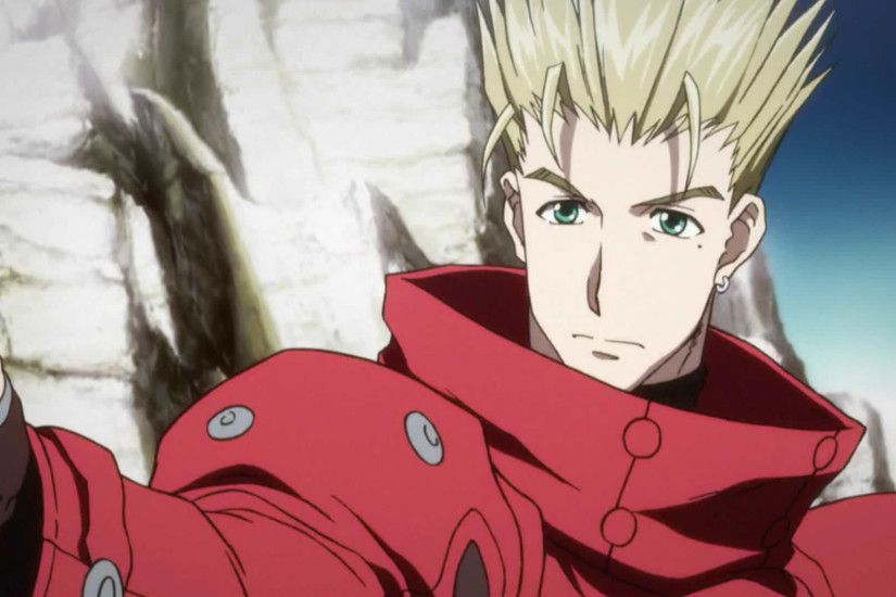 ... trigun The complete series review When ...