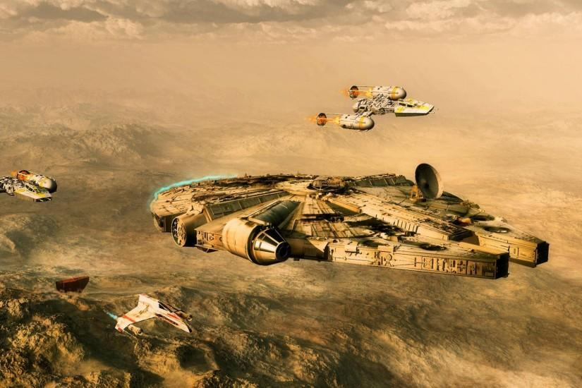 Millenium Falcon HD Wallpaper » FullHDWpp - Full HD Wallpapers .