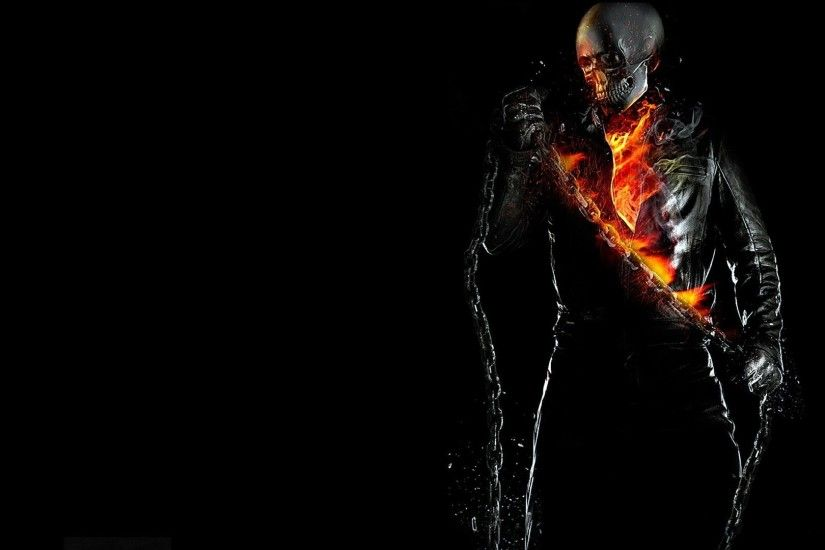 background skeleton circuit fire flame ghost rider ghost rider