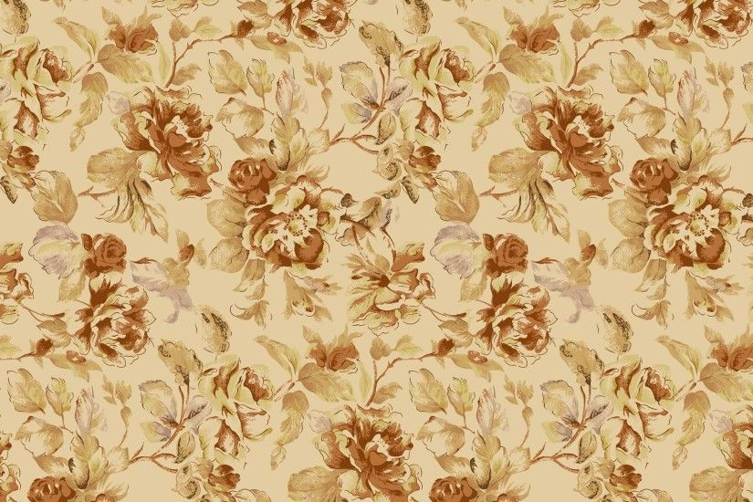 HD-Vintage-Flower-Pattern-Background