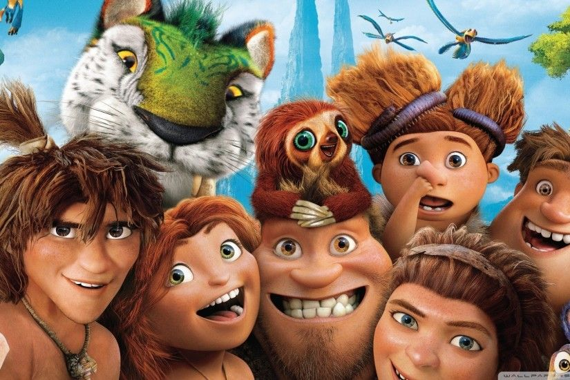 Croods Movie Characters