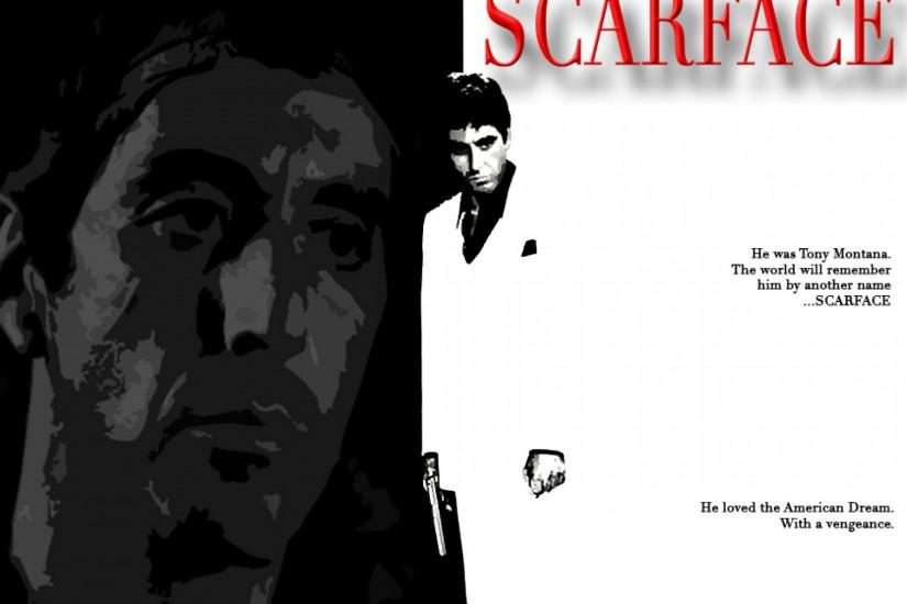 Scarface Tony Montana picture for desktop and wallpaperPicture for .