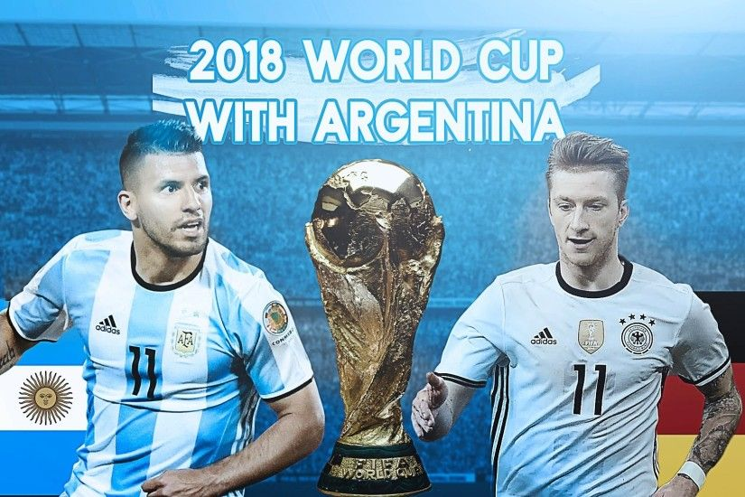 FIFA 16: 2018 World Cup w/ Argentina! - QUARTER FINAL VS GERMANY!!! - #3