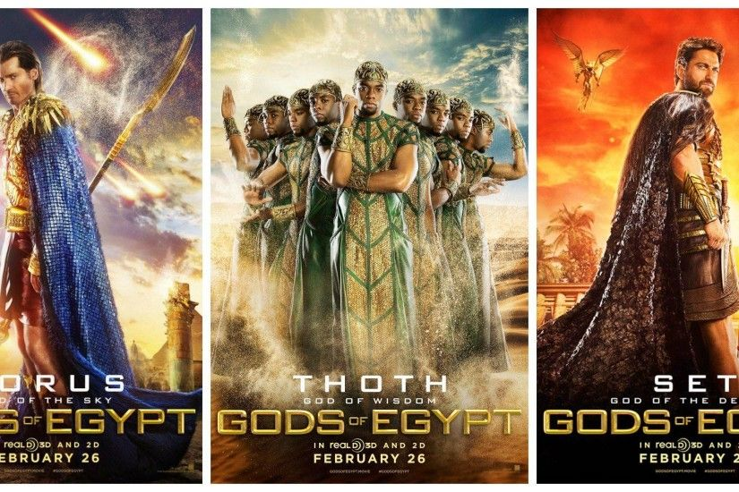 Gods of Egypt Wallpapers ·① WallpaperTag