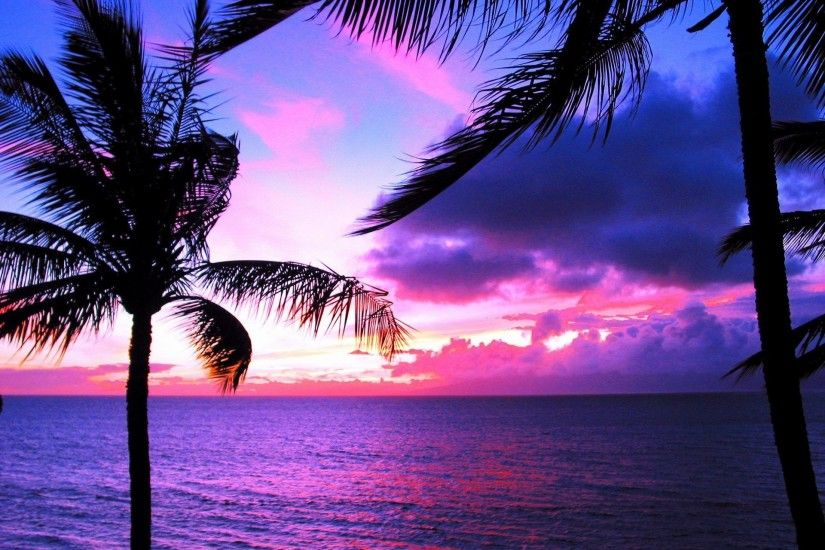 Hawaii Sunset Wallpaper Images