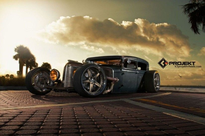 1931 K3 Projekt Ford Model Rat Rod Hot Rods Retro Wallpapers HD .