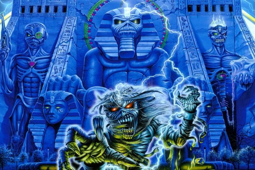 Iron Maiden desktop wallpapers in HD - Classic Heavy Metal band