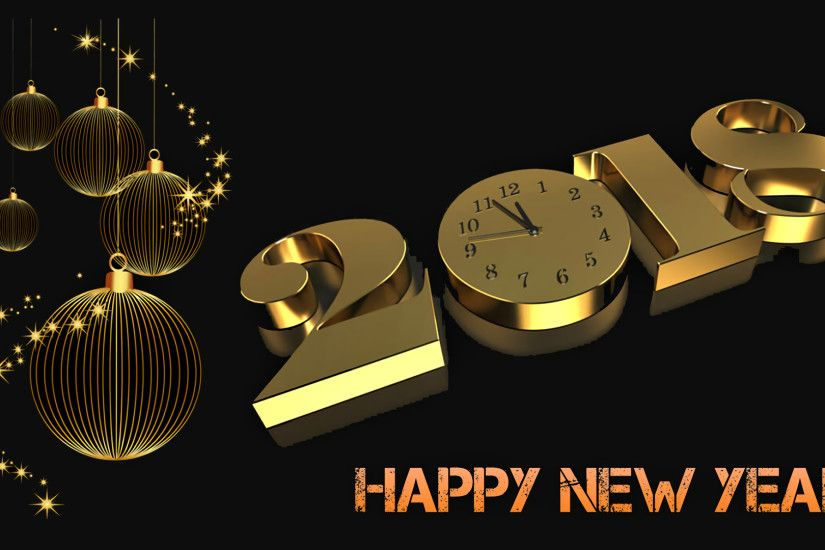 Holiday - New Year 2018 Holiday New Year Happy New Year Wallpaper