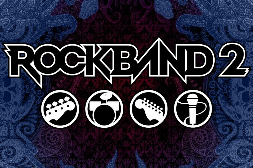 rock band wallpaper
