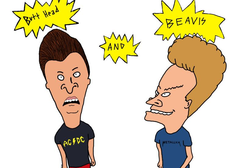 Beavis and Butthead by leroybrown96 Beavis and Butthead by leroybrown96
