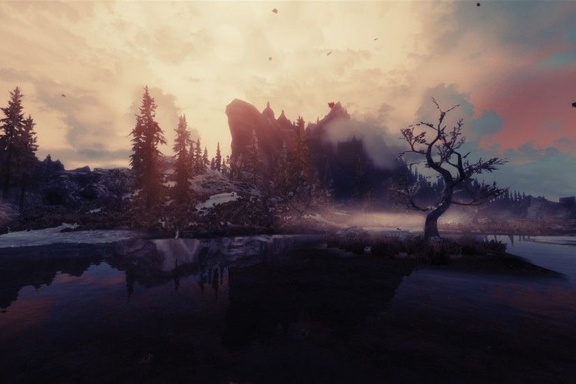 Download image Skyrim Iphone Wallpaper Scenery PC, Android, iPhone and .