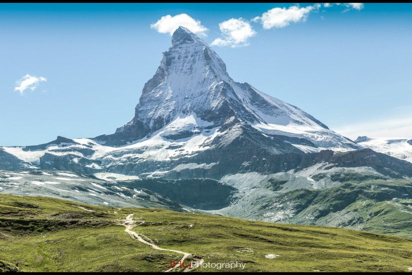 "Zermatt and Matterhorn (Cervin), Valais, Switzerland (Suisse / Schweiz /  Svizerra) - Swiss HD Wallpapers of High Resolutions up to 1920x1200 (iMac  24""), ..."