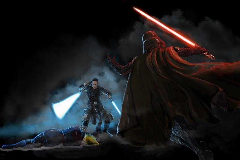 Star Wars, Artwork, Darth Vader