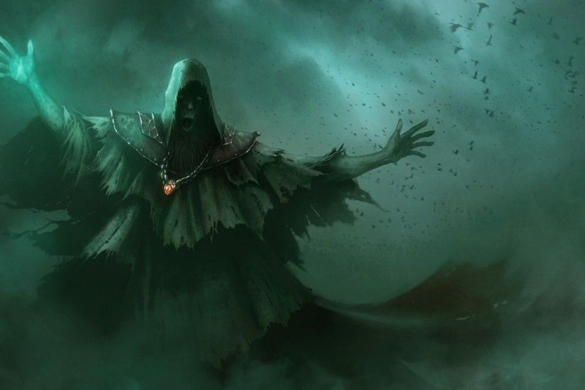 ... Fantasy mage wizard sorcerer art artwork magic magician wallpaper .