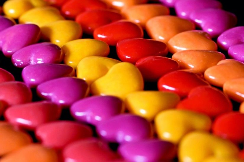 Sweet and Lovely Candies HD Desktop Wallpaper