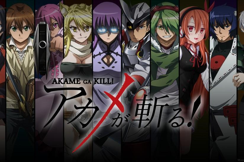 akame ga kill wallpaper 3840x2160 retina