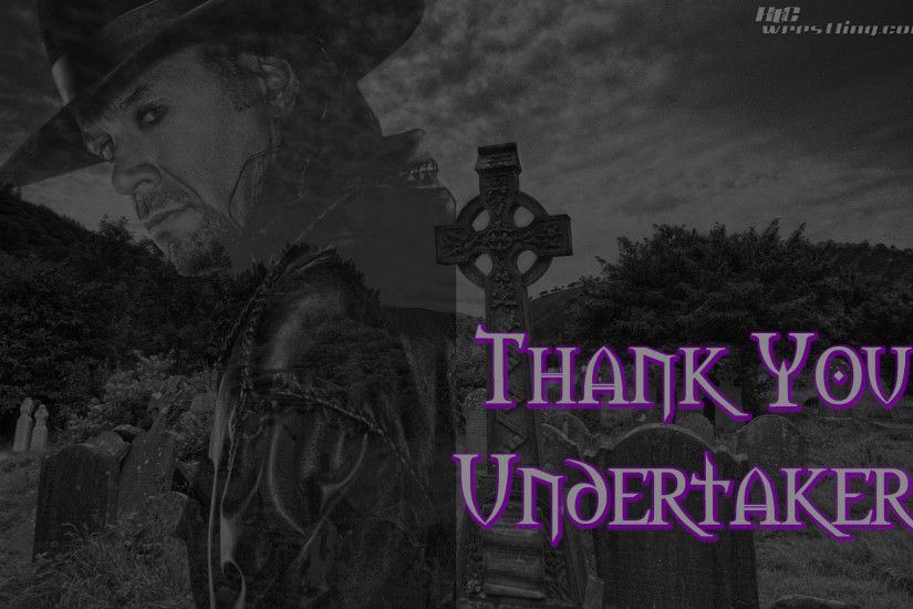 Wallpaper Of The Week: Thank You Undertaker