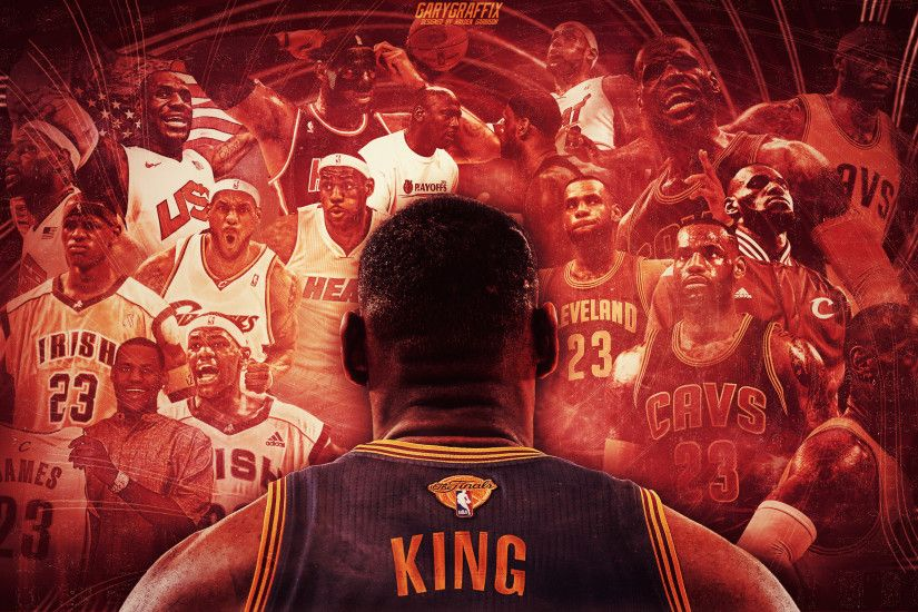 Picture. Lebron James Career Journey Wallpaper: ...