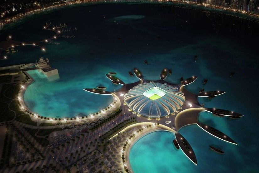 Qatar Football Stadium >> HD Wallpaper, Get It Now!