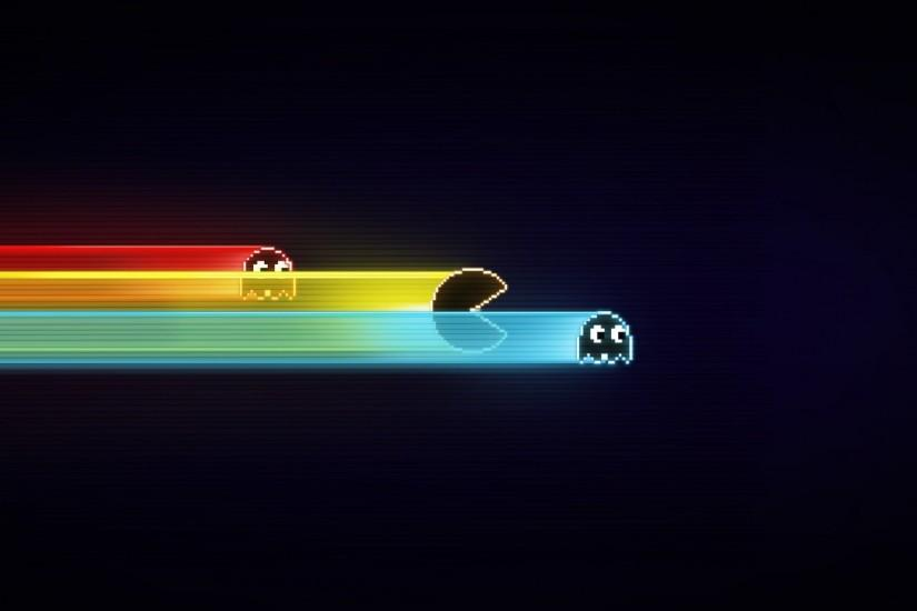 Preview wallpaper pacman, game, graphics, speed, harassment 2560x1440