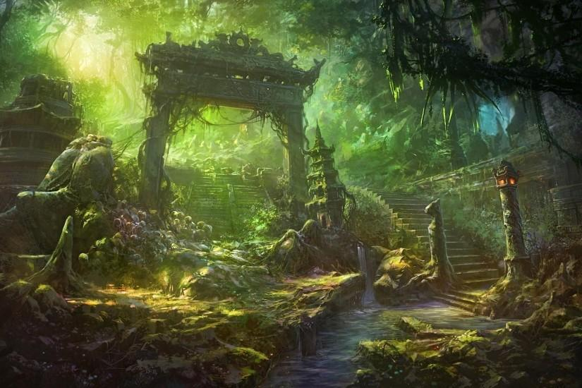 Image for Fantasy Forest Landscape Cool Wallpapers