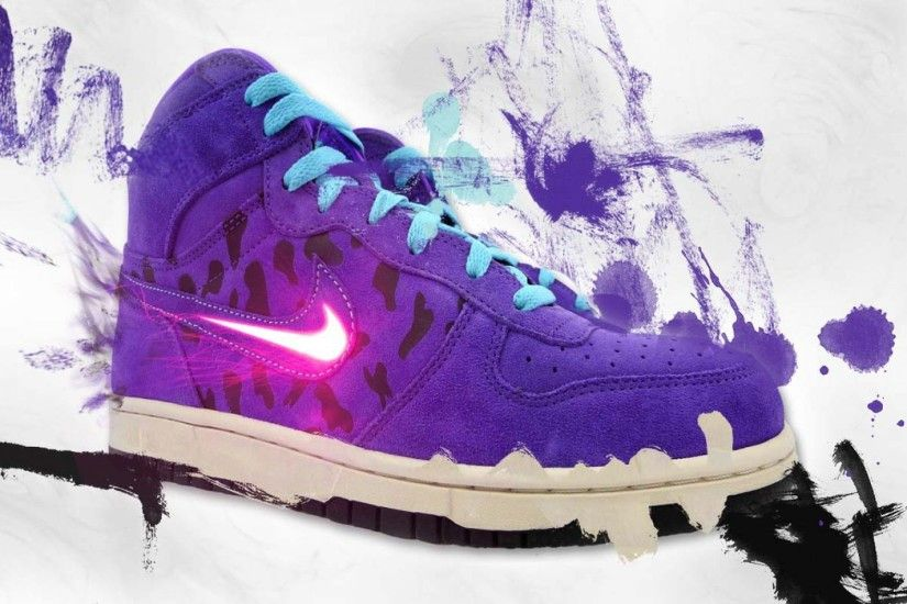 Graffiti Nike Logo In Shoes | HD Brands and Logos Wallpaper Free Download  ...