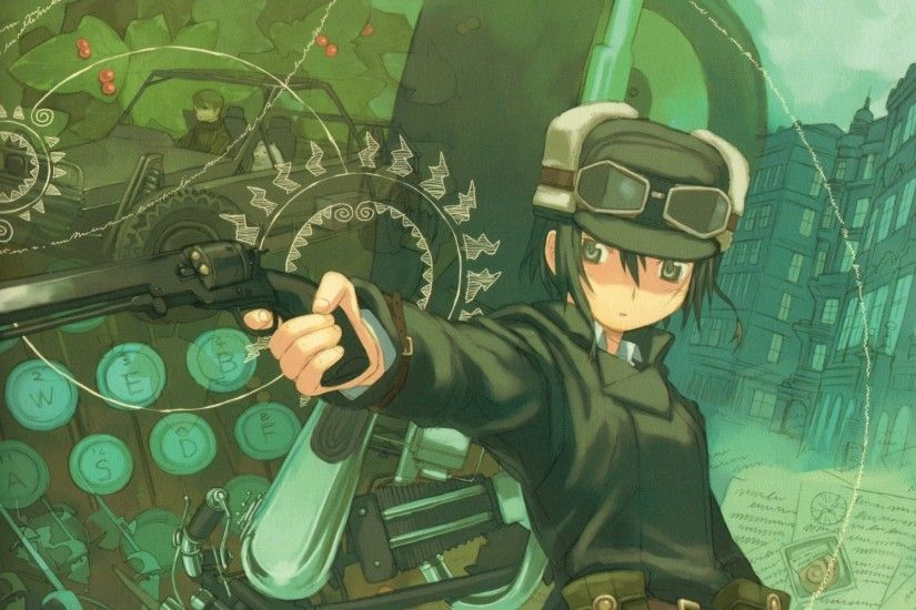 Anime - Steampunk Wallpaper