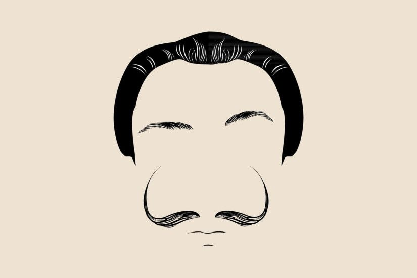 Mustache Wallpapers for iPad