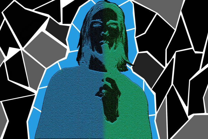 ... improved Kurt Cobain - Shape Background by AGXalex