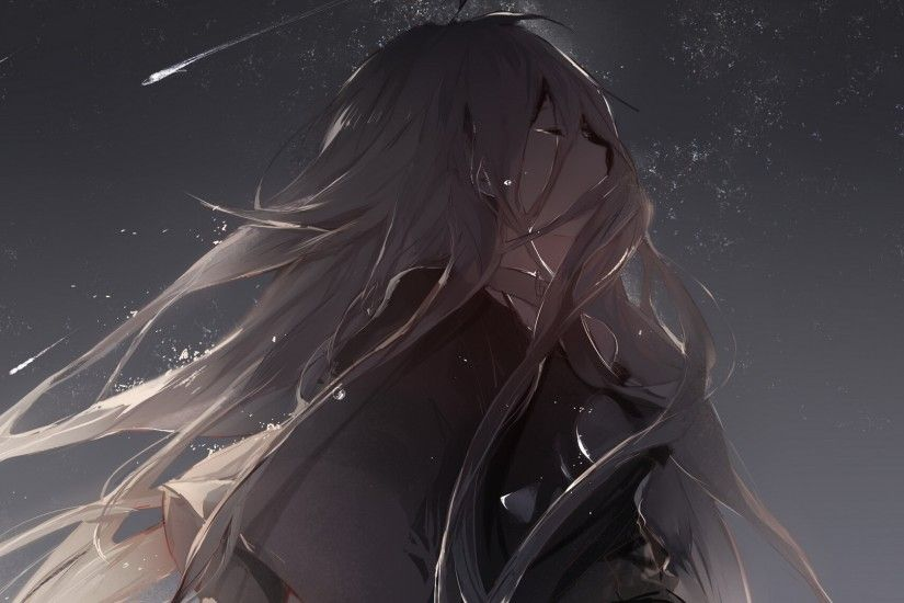 "Crying girl wallpaper, we all cry! W<img draggable=""false"" · Anime Girl  CryingSad ..."