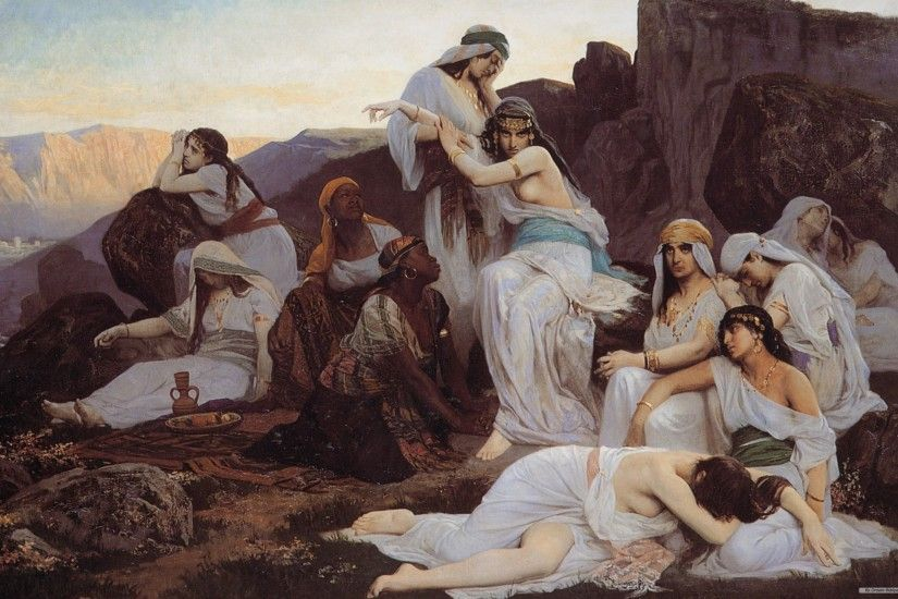 Free Art wallpaper - World Famous Paintings Episode 2 wallpaper - 2560x1600  wallpaper - Index 10.