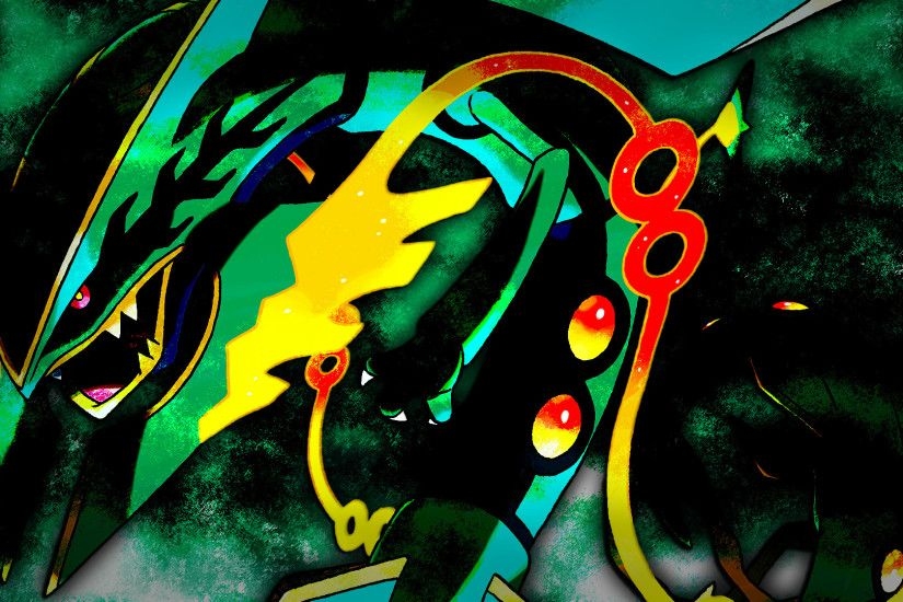 Mega Rayquaza Wallpaper 2 by Glench on DeviantArt