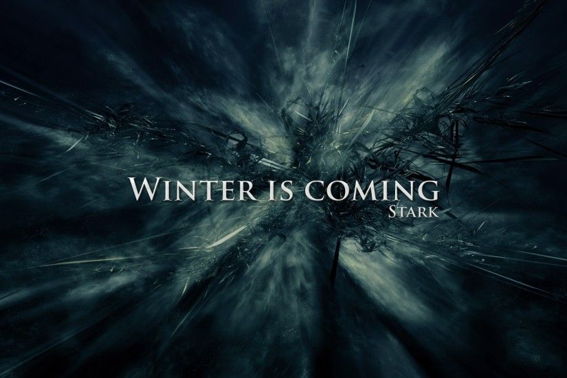 Game Of Thrones, A Song Of Ice And Fire, House Stark, Winter Is