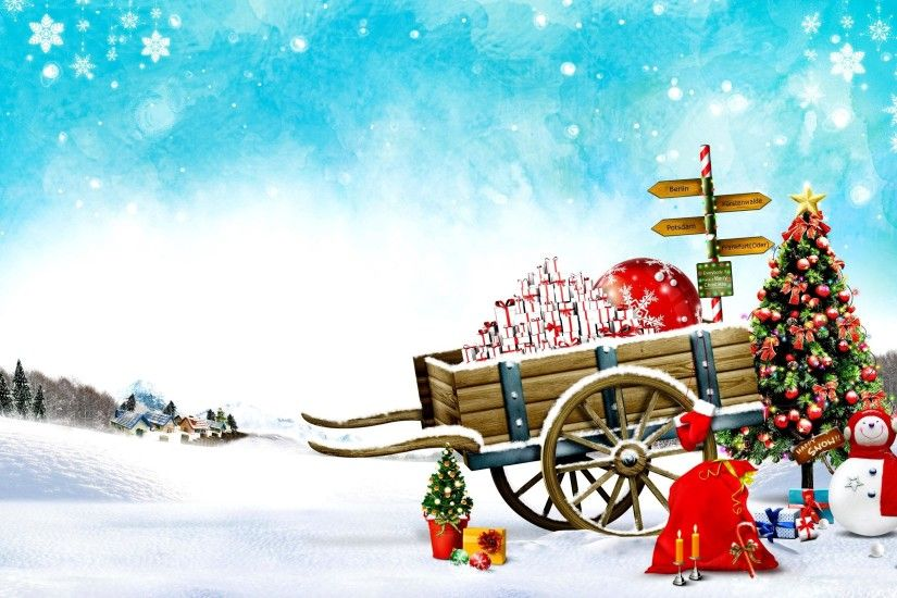 Happy Christmas HD Wallpapers