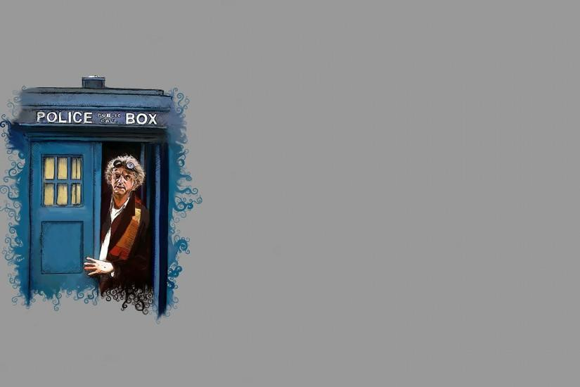 Preview wallpaper doctor who, back to the future, art 1920x1080