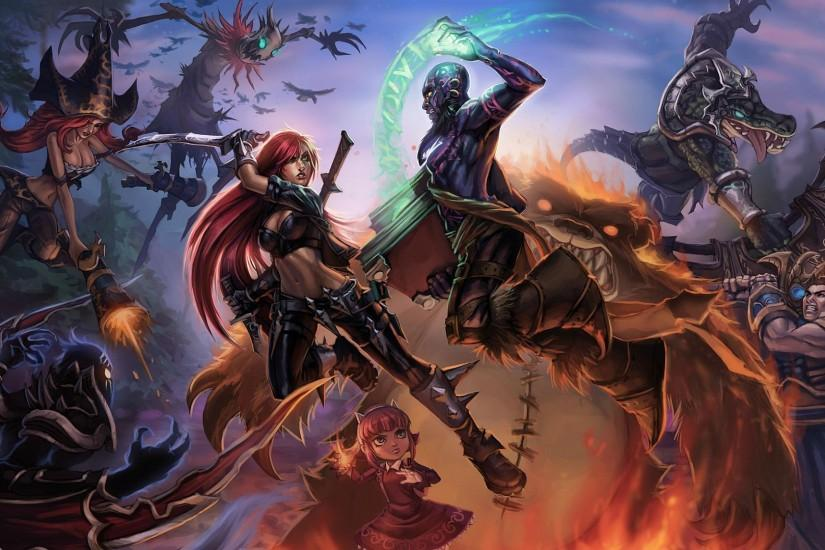 amazing league of legends wallpaper 1920x1080 x 720p