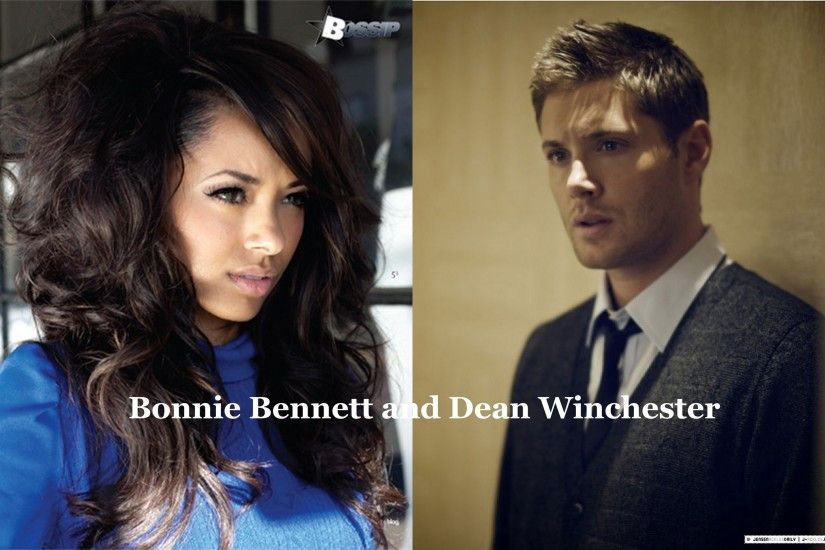 Dean and Bonnie images Bonnie Bennett and Dean Winchester HD wallpaper and  background photos
