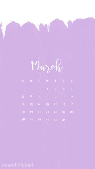 March calendar 2017 wallpaper you can download for free on the blog! For  any device