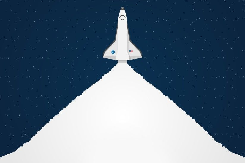 Creative Graphics / Space Shuttle Wallpaper