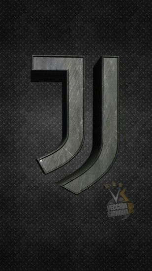 Mobile phone wallpaper inspired by Juventus FC rd kit ×