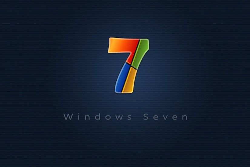 Preview wallpaper windows 7, red, blue, yellow, green 1920x1080