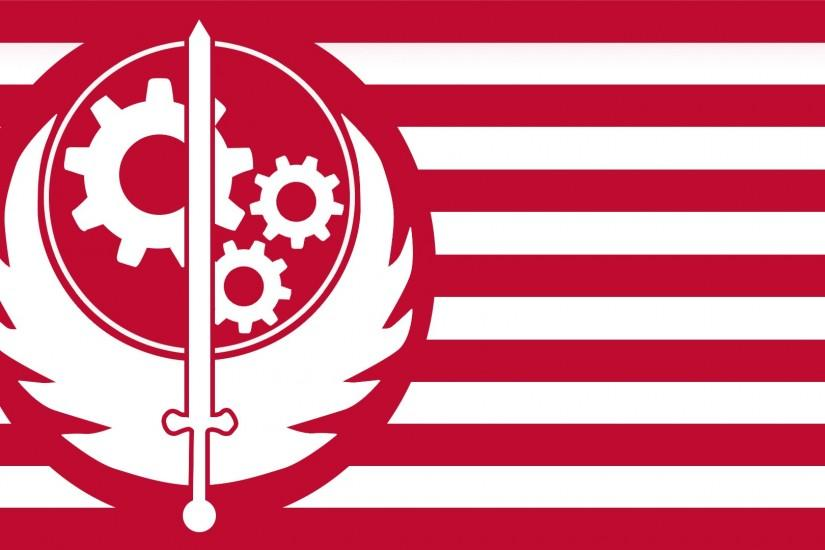 Brotherhood of Steel Flag by tonyp2121 Brotherhood of Steel Flag by  tonyp2121