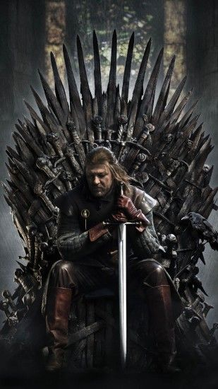 Game Of Thrones Ned Stark Iron Throne Android Wallpaper