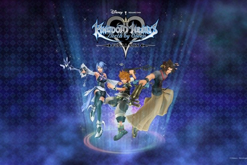 ... Kingdom hearts birth by sleep final mix Wallpapers HD ...