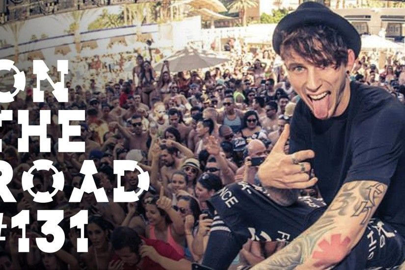 Machine Gun Kelly @ Wet Republic - On the Road w/ Steve Aoki #131 - YouTube