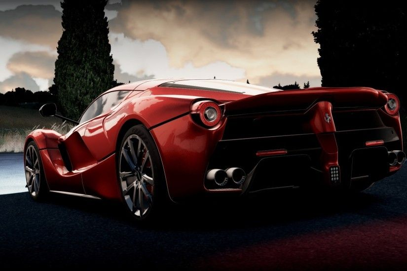 Ferrari LaFerrari, Ferrari, Forza Horizon 2, Video Games Wallpapers HD /  Desktop and Mobile Backgrounds