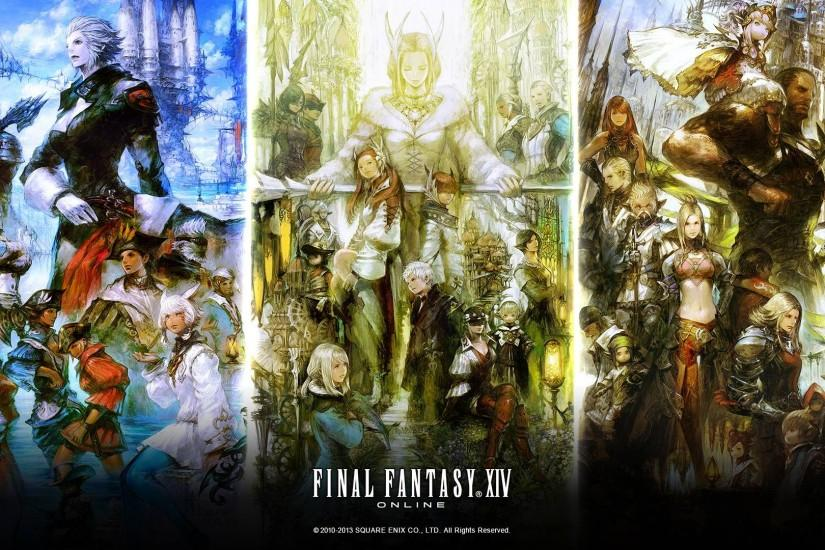 FINAL FANTASY XIV: A Realm Reborn Fan Kit #4 - Day 4 Released!