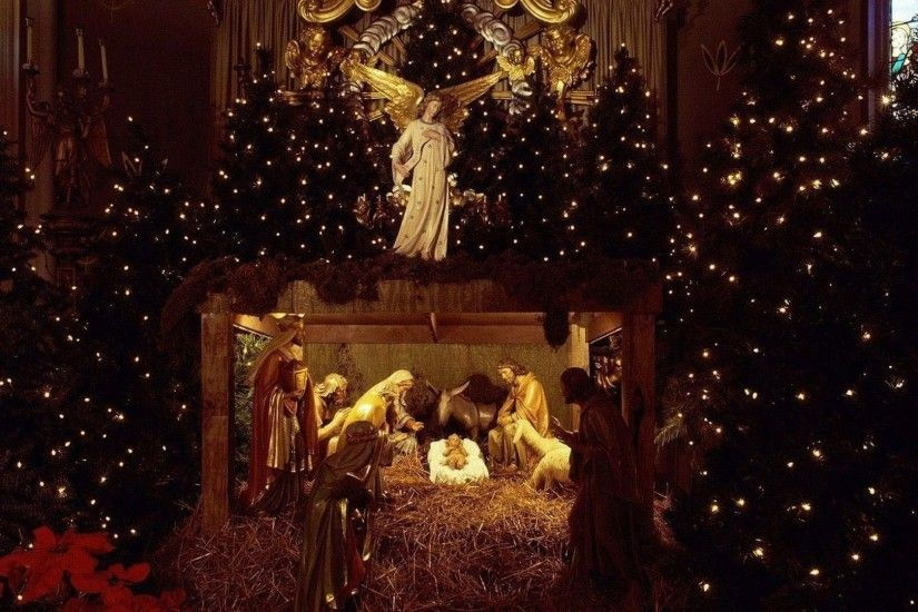 ... Awesome Nativity Scene Pictures Wallpaper of awesome full screen HD  wallpapers to download for free.