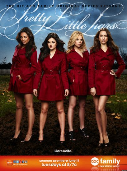 'Pretty Little Liars' Season 4 Poster Is Full Of Red Coats (PHOTO)